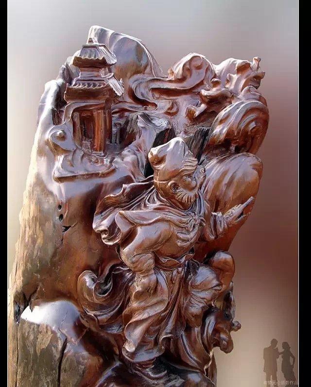 绝美的根雕艺术(组图)
