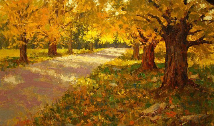 美国 马克.克里斯托弗 油画风景作品欣赏