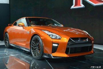 全新GT-R广州车展上市,售价162万元-172万