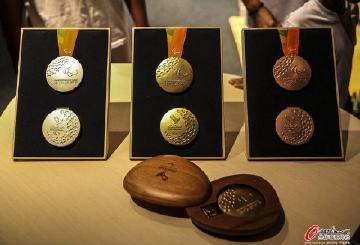 里约奥运会奖牌设计含义及价值值多少钱?