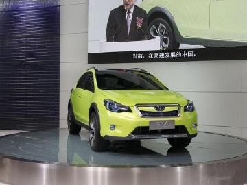 广州车展—斯巴鲁概念车XV CONCEPT将于广州车展亮相