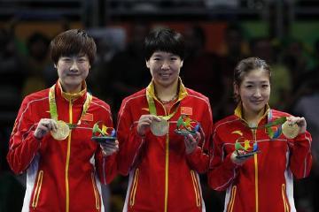 惹不起!中国队乒乓球已无敌 全世界只剩膜拜的份了