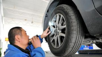 冬天则不然,需要增加轮胎气压以保证正常行驶并.图片