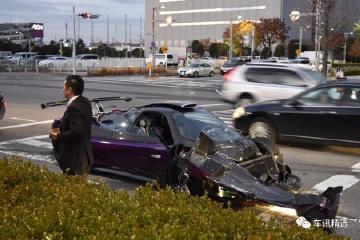 全球最贵车祸,帕加尼ZondaVS迈巴赫S62,损失超千万!
