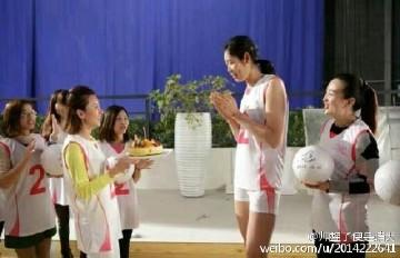 朱婷美爆了!世界第一回国拍广告,姚明李娜没此待遇!