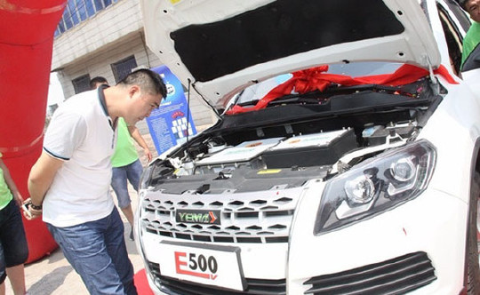国产电动汽车续航超500km 扬言领先比亚迪特斯拉