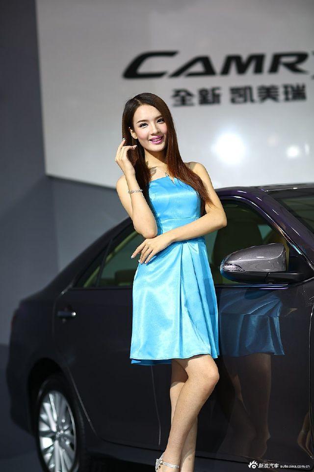 广州车展模特之清纯萌妹