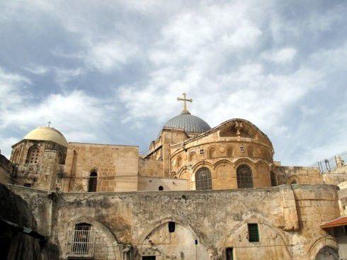 (耶路撒冷基督教圣地--圣墓教堂:耶稣受难和复活的地方)