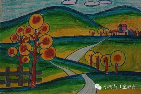 秋天的儿童诗和绘画,给孩子欣赏一下吧!图片