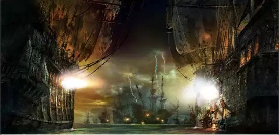 ▲ 《加勒比海盗》主题效果图