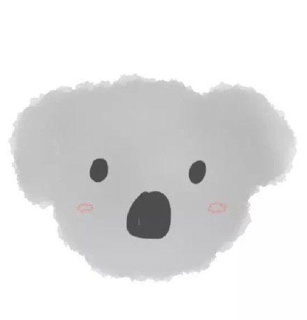 可爱到没朋友的卡通水彩小动物微信头像推荐