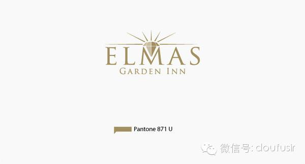 elmas酒店vi品牌设计