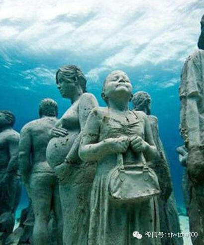 海底发现神秘人类