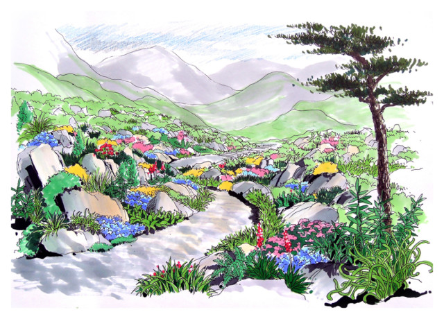 原标题:马克笔 细腻的植物手绘