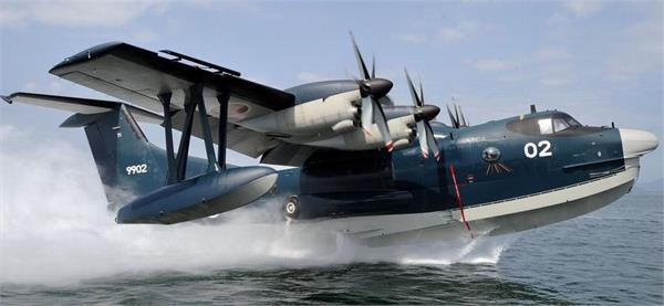 5亿收购12架日本的us-2i水上飞机.