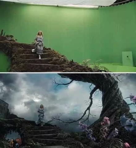 原创|电影的奇幻世界在绿幕里