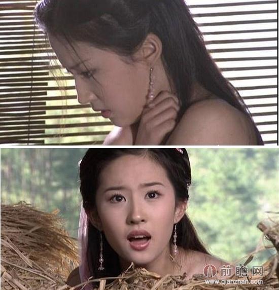 三爱激情戏曝光刘亦菲变欲女 盘点神仙姐姐大