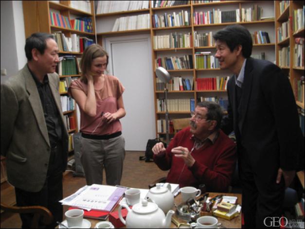 管风琴演奏家乌特·格鲁奈特访问中国
