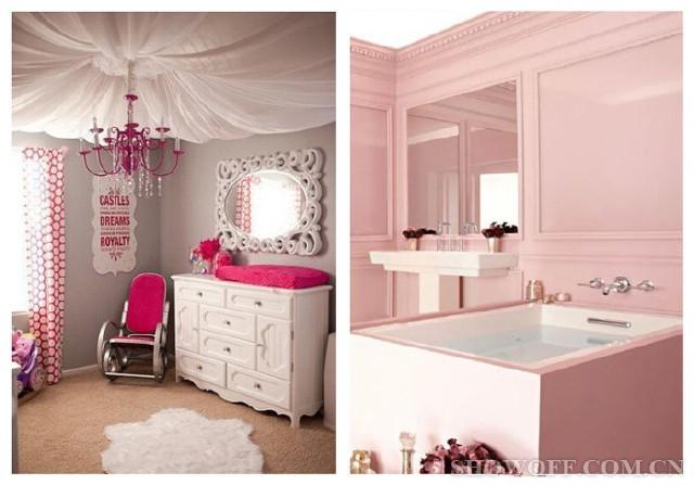 小公主房间这样装修 送给有粉红情结的你