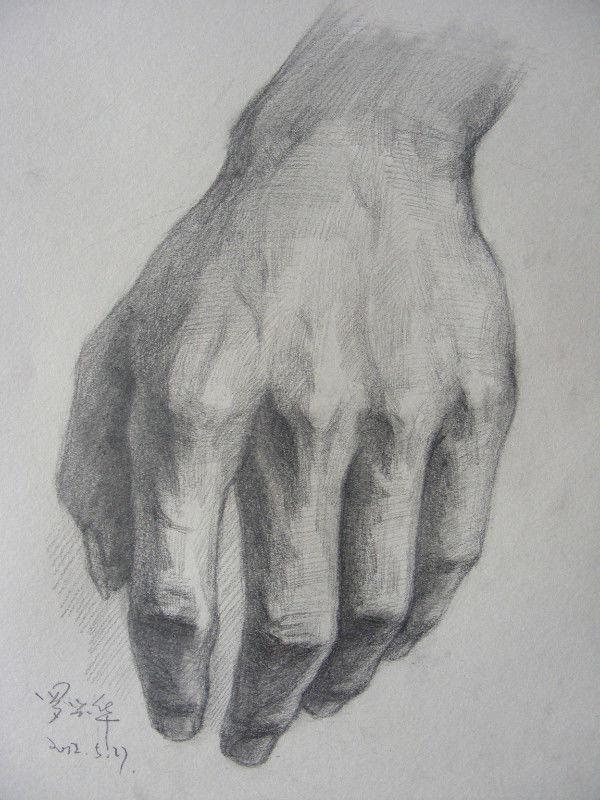 如何画手--美术高考素描容易被忽视的问题
