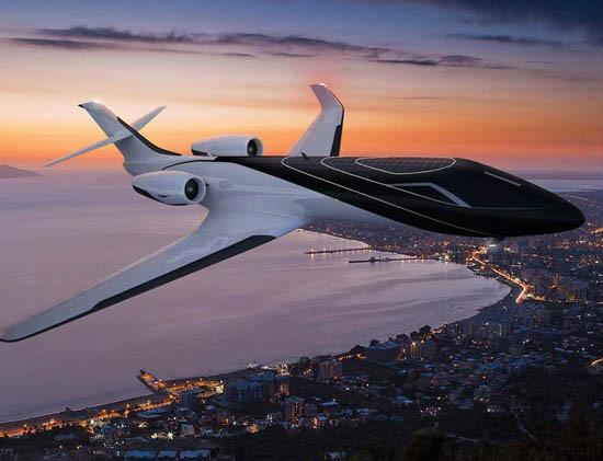 世界上第一架全透明飞机,你敢坐吗?