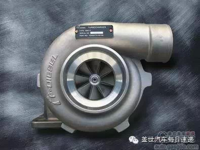 可调两级涡轮增压系统图片