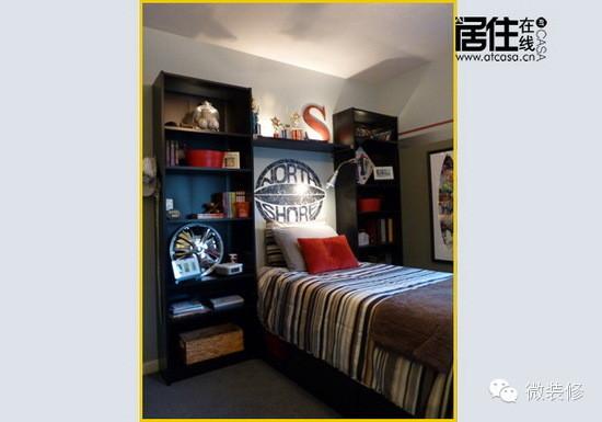 儿童房装修精美图,男孩儿的私密空间