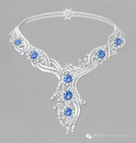 【珠宝手绘】梵克雅宝系列(一)——项链篇