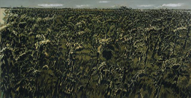 葵园深歌--国美院长许江的油画作品