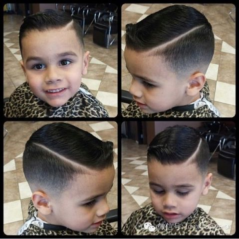 男宝宝的可爱耍酷发型!帅到没朋友
