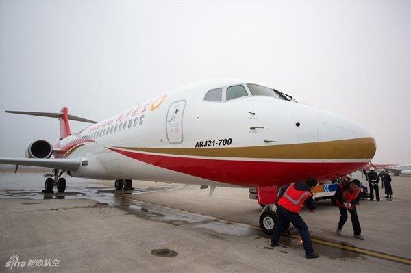 首架国产大飞机:今年交付