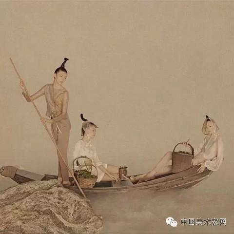 杨颖古风手绘图片大全