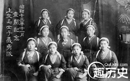 欧美扒衣强袭_侵略中国的日本女兵下场惊人:死后竟被群众扒衣