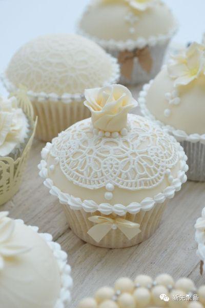 100张典雅尊贵的纸杯蛋糕美图