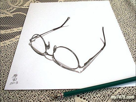 3d铅笔画精选