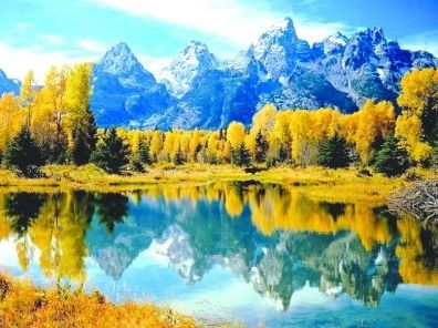 别和西藏的秋天比美