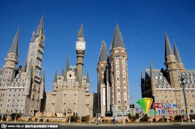 河北美院酷似魔法城堡