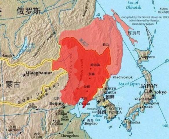中国主要山脉图手绘