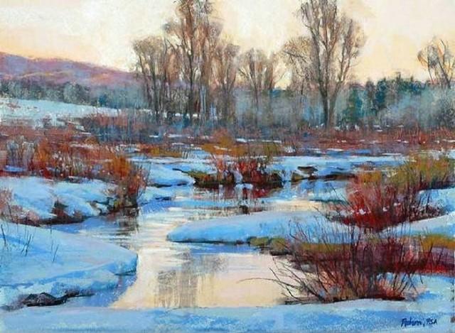 美国风景画家罗伯特rohm 油画欣赏