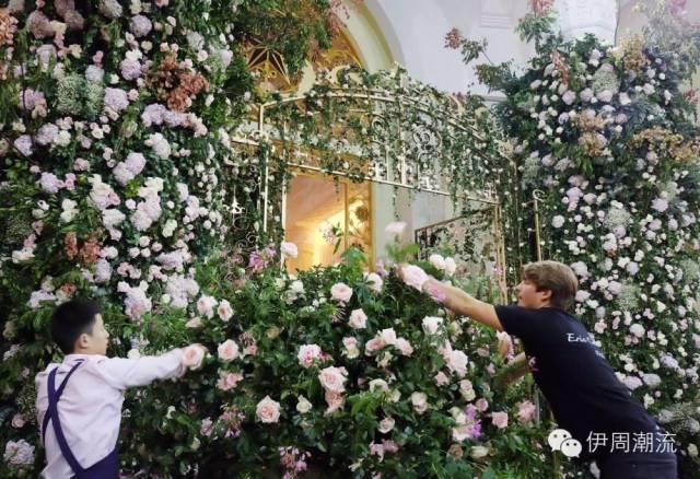 """整场婚礼花艺主题为——""""粉红色公主"""""""