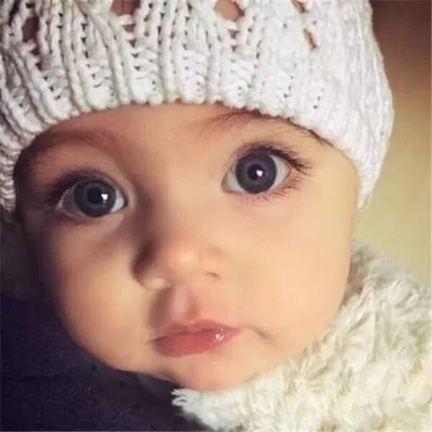 最萌的宝宝egypt,睫毛逆天了!