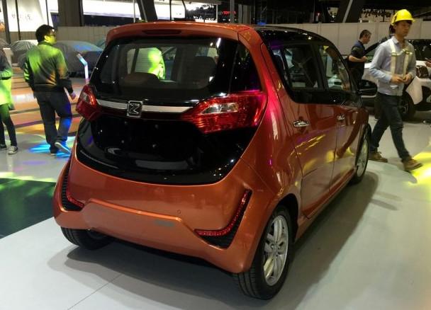 展五大中国品牌新能源汽车盘点高清图片