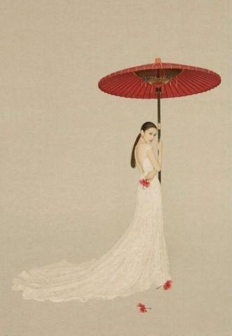 当明星遇上中国风|古风画卷般的绝美风景
