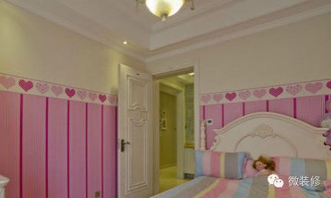 如何用墙纸装扮儿童房?给宝宝一个健康安全的家.