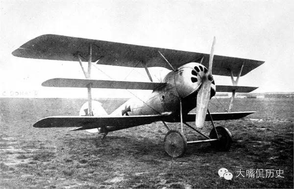 第一次世界大战中的飞机老照片