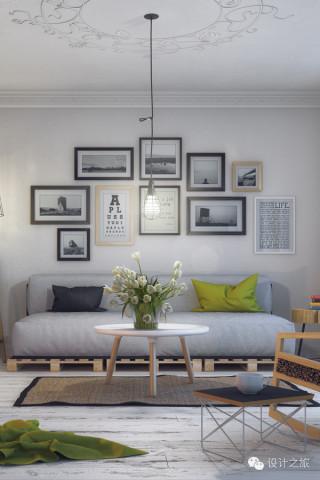 家居设计   简约白色调室内空间设计