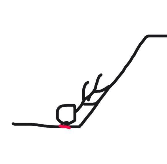 旋转滑滑梯简笔画步骤