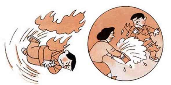 消防知识安全宣传图片系列二 逃生