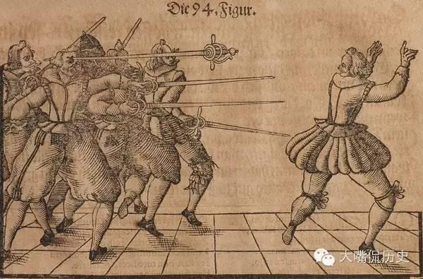 奇葩的古代欧洲武功秘籍:骚年