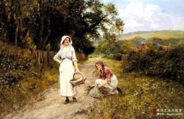 英国油画家笔下的诗意田园,令人向往